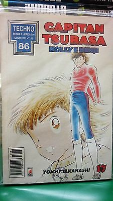 Capitan Tsubasa n.17 Holly e Benji - Techno 86 - Star Comics SC37