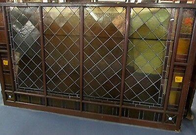 ANTIQUE VICTORIAN STAINED GLASS ESTATE WINDOW A MAJESTIC SIZE 5 Ft. x 8.5 Ft.