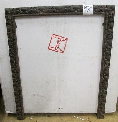 Fine Antique Fancy Iron Fireplace Open Surround  #87   At A Sale Price!