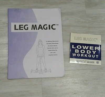 BN Leg Magic CD LOWER BODY WORKOUT Exercise Tones Muscle Strengthens & GUIDE
