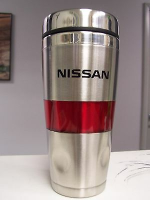 NISSAN Stainless Hot or Cold Travel Mug Cup (New)