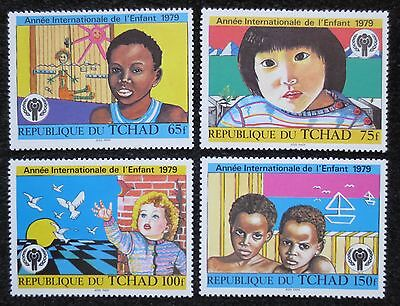 Chad - 1979 - Year of the Child - SG 561/564 - MNH Set - CV £4.50+