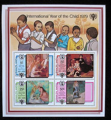 Swaziland - 1979 - Year of the Child - SG MS 3232 - MNH