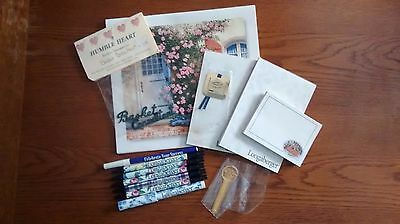 Longaberger Consultant Hostess Gifts Pens Notepads Bookmarks Plus More
