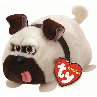 Ty Beanie Babies 42191 Teeny Tys Secret Life of Pets Mel the Pug Dog