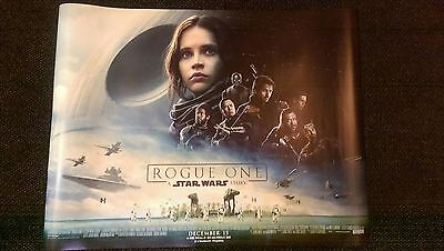 Star Wars Rogue One Cinema Poster