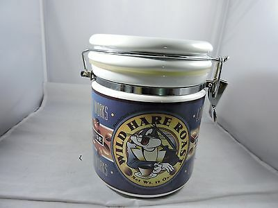"""Warner Brothers Canister Jar Bugs Bunny 6.5"""" by 5"""" 1995"""