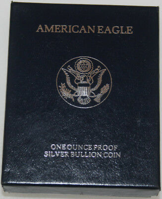 Supplies Box and Case 1994-1997 American Silver Proof Eagle NO COINS