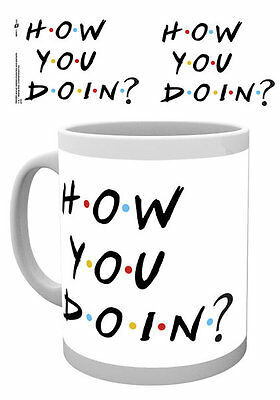FRIENDS Mug - HOW YOU DOIN' Mug - Official Licensed ceramic mug MG0311