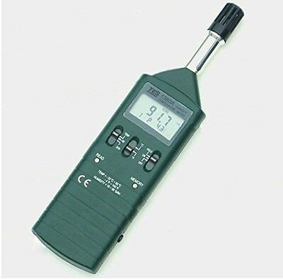 TES TES-1360A Humidity Temperature Meter for use in Labs, Quality Control & More