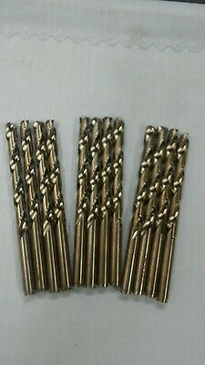 5/16 H.d. Cobalt Jobber Length Drill Bits Pack Of 12 Made In Usa