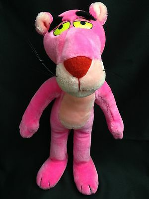 """Vintage 1987 THE PINK PANTHER 24k United Artists PictUre Stuffed Animal 16"""""""