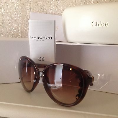 Chloe sunglasses new with tags & case.