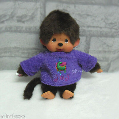Mimi Collection MCC Fashion S Monchhichi Outfit Long Sleeve Fur Clothes PURPLE