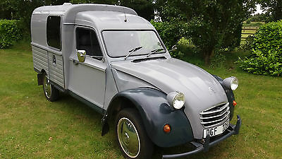 citroen van 650cc fitted out as a camper