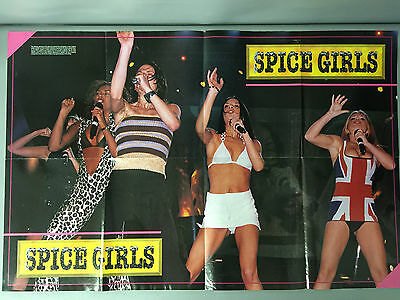 Spice Girls 1998 Hit Sensations Poster Series Vol 1 No 7 Excellent Cond. Mel B