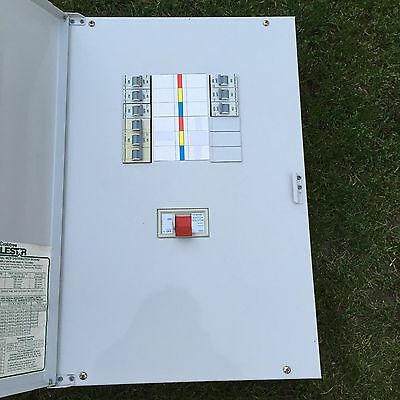 Crabtree Polestar Distribution Board Fuse Consumer Unit 3 Phase Box 4 Way