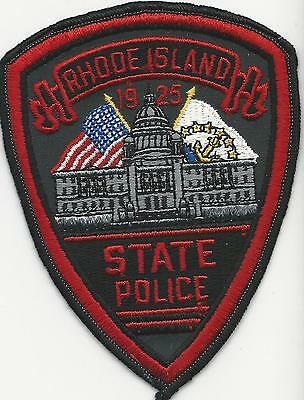 State Police Rhode Island RI with cheese cloth back