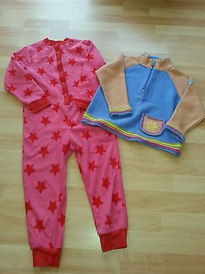 Girls Fleece Onsie F&f & Jumper Target Dry Age 5-6 Years