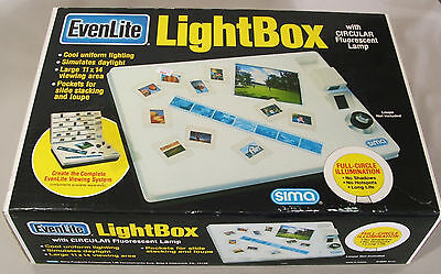 SIMA Model ESS EvenLite Slide Light Box New in Box 120 Volt Circular 22 Watt Box