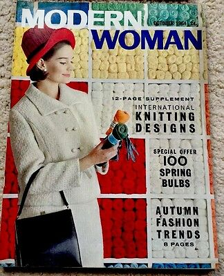 6 Modern Woman's Vintage Magazines 1964 and 1965