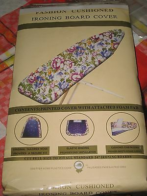 Ironing Board Cover , 5 Pattern Colors To Choose From, Brand New In Bag