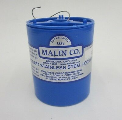 "Malin MS20995C32 Safety Wire (1 lb. Roll) - .032"" Diameter - MS20995C32SS1LB"