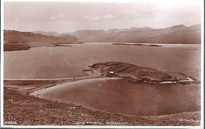 Loch Erriboll, Sutherland, Highland - JB White real photo postcard c.1930s