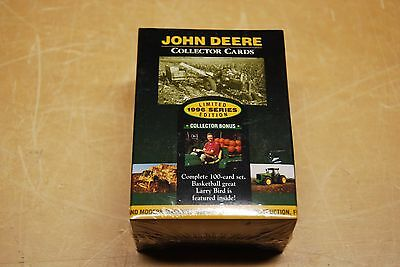 JOHN DEERE COLLECTOR CARDS 1996 Limited  Edition Set of 100 Larry Bird