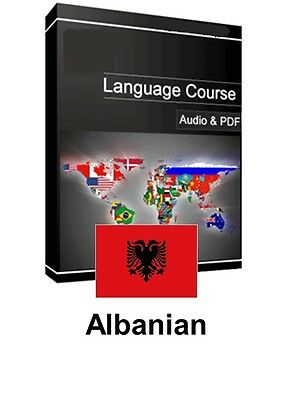 Learn to Speak Albanian - Teach Yourself Language Course on PC CD/DVD