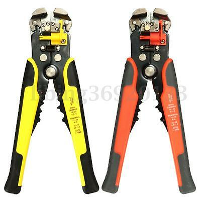 8'' Automatic Cable Wire Stripper Crimper Crimping Tool  Adjustable Plier Cut