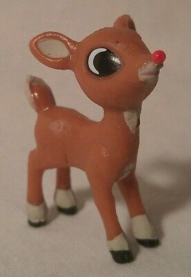 RUDOLPH THE RED NOSE REINDEER - Baby Rudolph Pvc Figure - Christmas Classic
