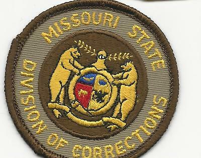 State Division of Corrections  Missouri  Mo with cloth back