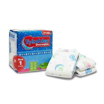 Tykables Overnights Adult ABDL Nappies - 10 Diapers