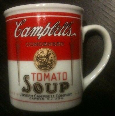 Ceramic Mug Campbell's Condensed Tomato Soup Can