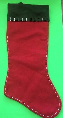 Red & Green Christmas Stocking