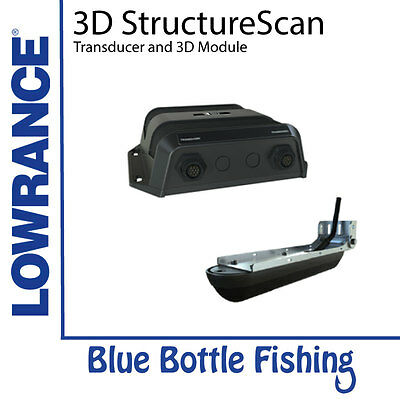 Lowrance 3D StructureScan Transducer and Module