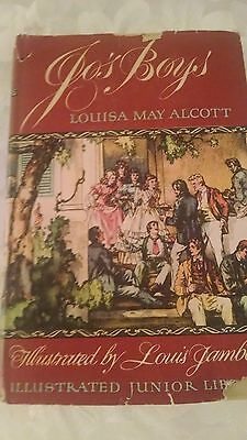 Jo's Boys by Louisa May Alcott Illustrated junior Library 1949