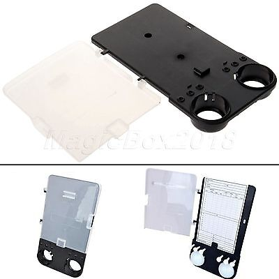 New 2016 Deluxe Golf Trolley Empty Scorecard Holder Clip Holds Balls Tees Pencil