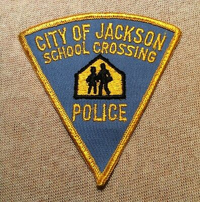 MO City of Jackson Missouri School Crossing Police Patch