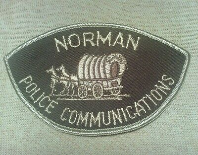 OK Norman Oklahoma Police Communications Patch