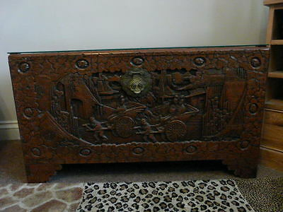 Early 20th century Chinese Camphor Wood Chest