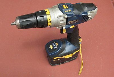 2 x Cordless Drill hammer  and  Drill 24 volts  with batteries