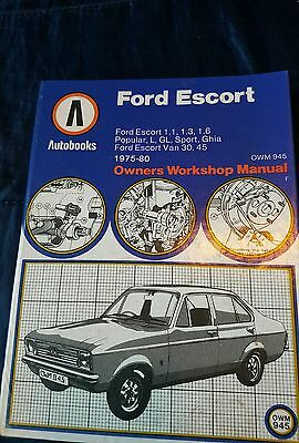 autobooks manual for Ford escort