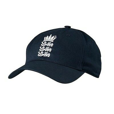Adidas 2016 England Cricket Replica Match Cap - Navy - One Size Mens