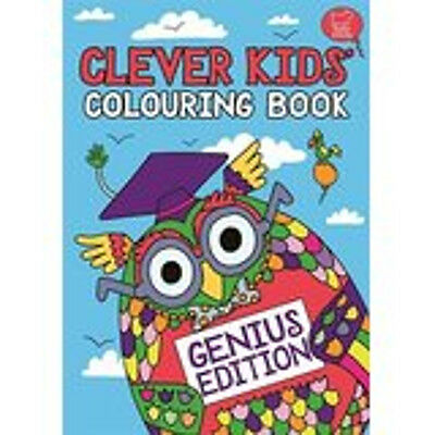 The Clever Kids' Colouring Book: Genius Edition, New, Dickason, Chris Book