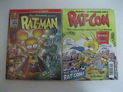Rat-Man Collection 100 Panini Leo Ortolani Rat-Con Parma