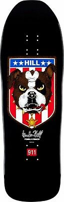 Powell Peralta Frankie Hill BULLDOG Skateboard Deck BLACK