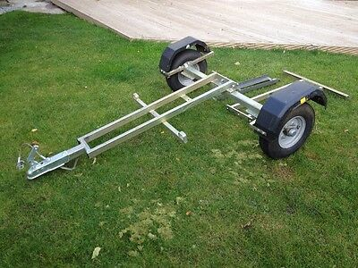 Dave Cooper Single Motorbike Trailer Collapsible