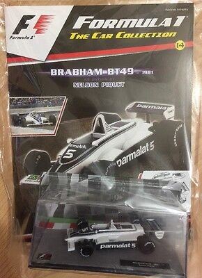 F1 The Car Collection Issue-14  BRABHAM- BT49-1981